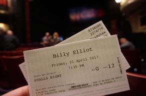 Birmingham Hippodrome Theatre - Seat view
