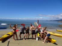 Kayaking Abel Tasman - New Zealand - Theatress Travels