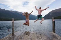 Nelson Lake Island New Zealand - Theatress Travels