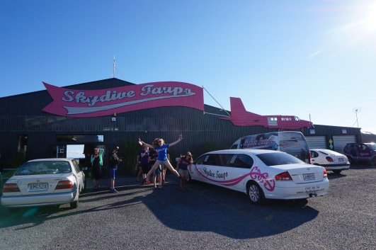 Skydive Taupo New Zealand - Theatress Travels 2