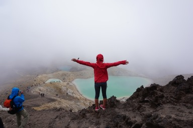Tongariro Crossing New Zealand - Theatress Travels 2