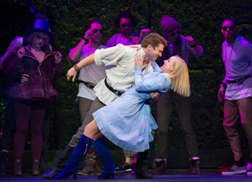 Kerry Ellis Stephen Webb - Wonderland UK Tour - Theatress Review