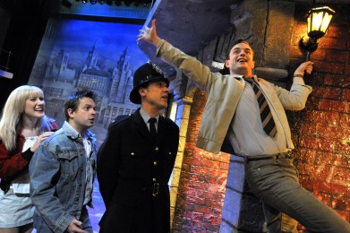 Bill Kenwright production of BLOOD BROTHERS by Willy Russell Directed by Bob Tomson