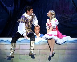 Cinderella at Milton Keynes Theatre starring Brian Conley, Gok Wan and Lauren Hall