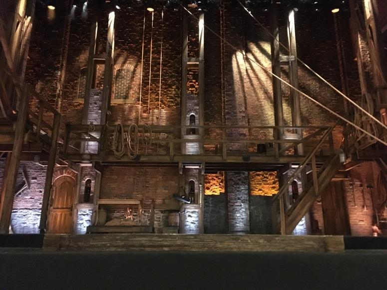 Hamilton London - Where to sit Victoria Palace - Theatress