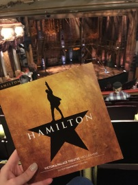 Review Hamilton London - Theatress 4