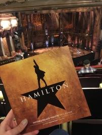Review Hamilton London - Theatress 4