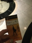 Review Hamilton London – Theatress 5