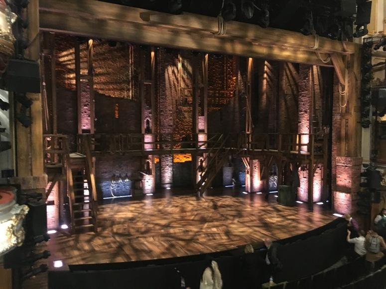 Where to sit Hamilton London - Theatress 2