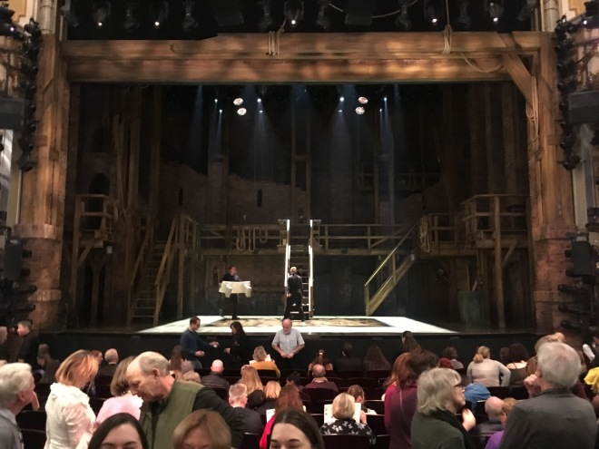 Where to sit Hamilton London - Theatress 3