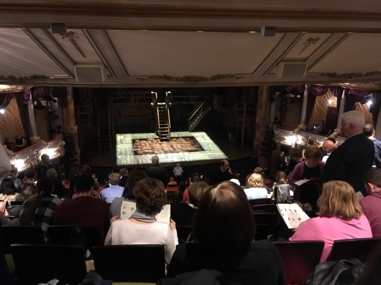 Where to sit Hamilton London - Theatress 4