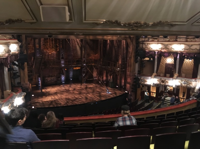 Where to sit Hamilton London - Theatress 6