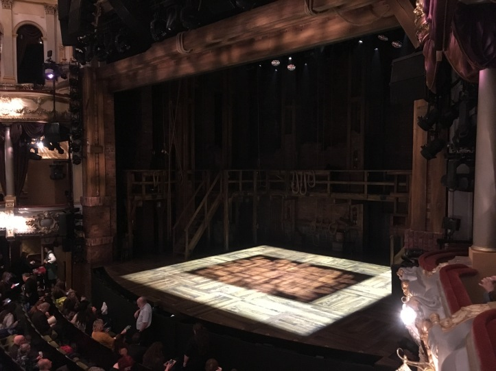 Where to sit Hamilton London - Theatress 7