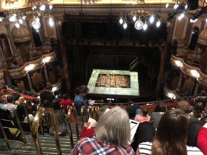 Where to sit Hamilton London - Theatress 8