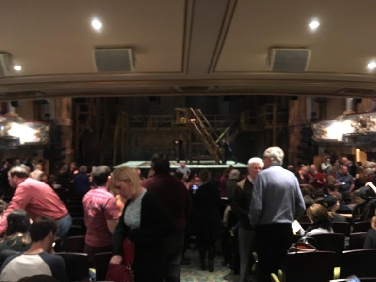 Where to sit Hamilton London - Theatress 9