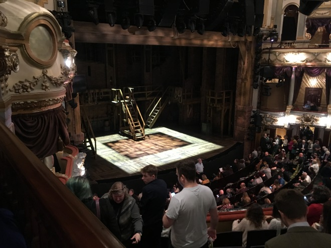 Where to sit Hamilton London - Theatress