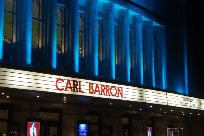 Carl Barron - Drinking with a fork - Hammersmith Eventim Apollo - Comedy - Theatress - Review
