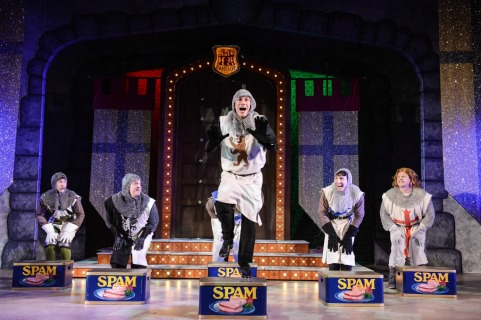Spamalot UK Tour Review - Theatress Theatre Blog 2