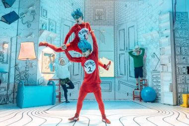 the cat in the hat uk tour review - theatress blog 1