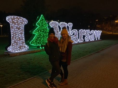 warsaw christmas markets - travel blog - theatress 12
