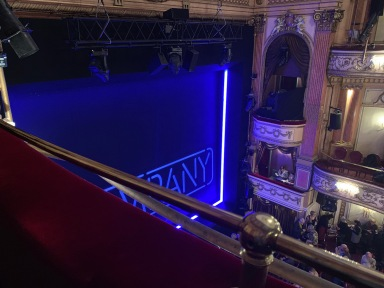 Where to sit Gielgud Theatre - View from seat - Theatress Theatre Blog 16