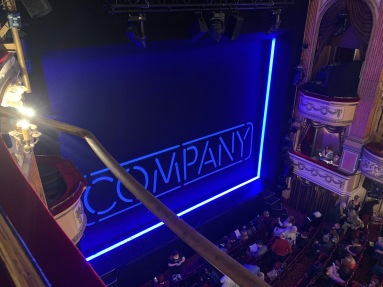 Where to sit Gielgud Theatre - View from seat - Theatress Theatre Blog 17