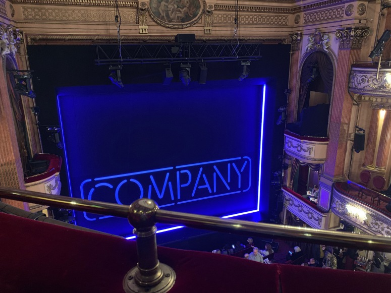 Where to sit Gielgud Theatre - View from seat - Theatress Theatre Blog 18