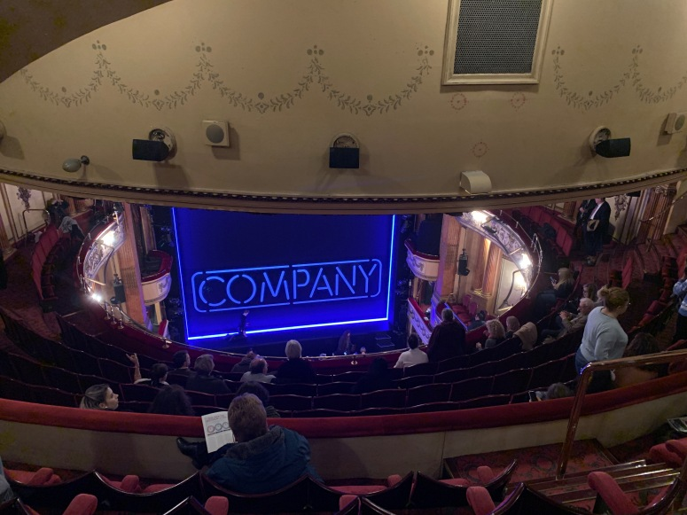 Where to sit Gielgud Theatre - View from seat - Theatress Theatre Blog 21