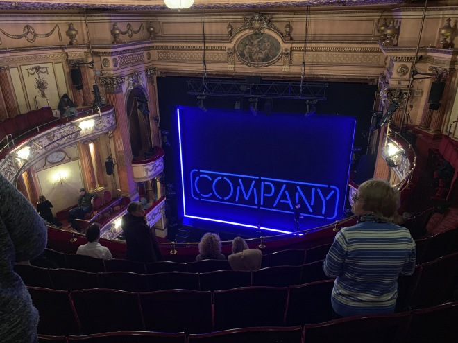 Where to sit Gielgud Theatre - View from seat - Theatress Theatre Blog 22
