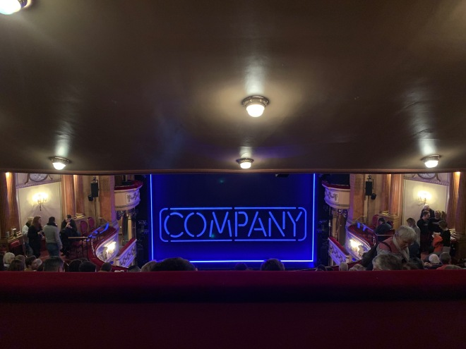 Where to sit Gielgud Theatre - View from seat - Theatress Theatre Blog 23