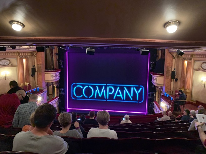 Where to sit Gielgud Theatre - View from seat - Theatress Theatre Blog 6
