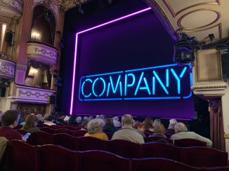Where to sit Gielgud Theatre - View from seat - Theatress Theatre Blog 7