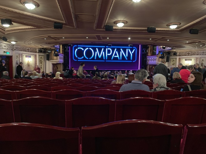 Where to sit Gielgud Theatre - View from seat - Theatress Theatre Blog 9