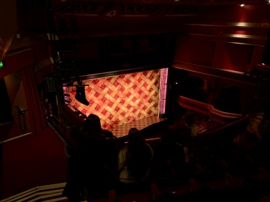 Where to sit - View from seat - Waitress - Adelphi Theatre London - Theatress Blog 1