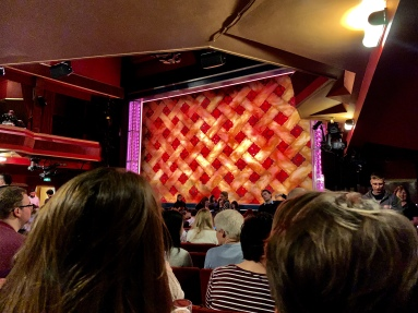 Where to sit - View from seat - Waitress - Adelphi Theatre London - Theatress Blog 11