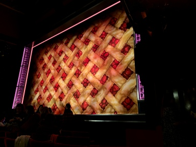 Where to sit - View from seat - Waitress - Adelphi Theatre London - Theatress Blog 12