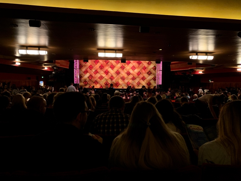 Where to sit - View from seat - Waitress - Adelphi Theatre London - Theatress Blog 14