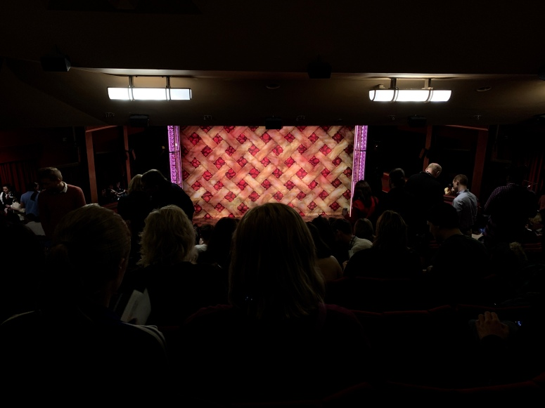 Where to sit - View from seat - Waitress - Adelphi Theatre London - Theatress Blog 15