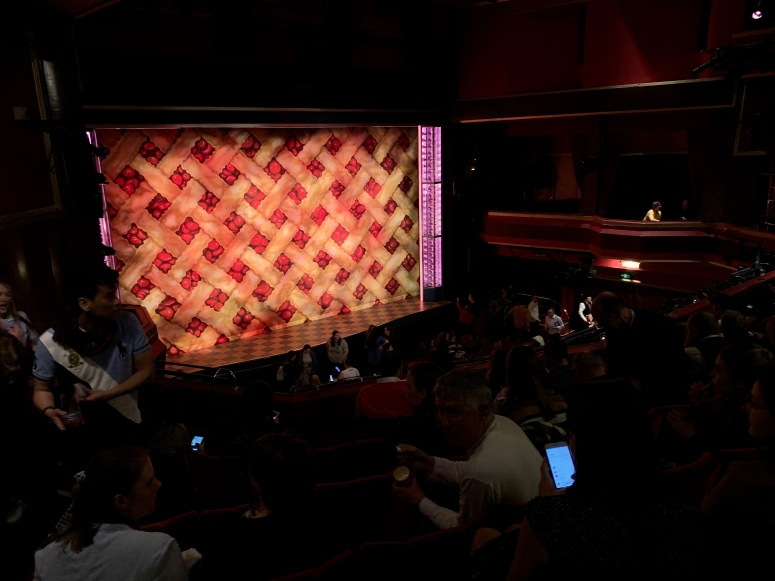 Where to sit - View from seat - Waitress - Adelphi Theatre London - Theatress Blog 17