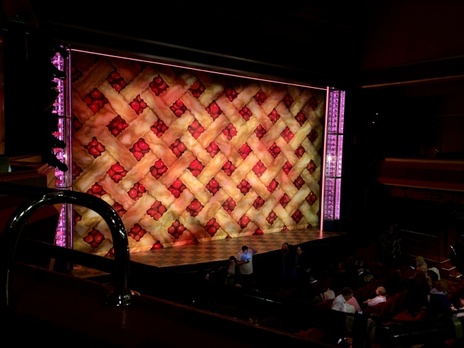 Where to sit - View from seat - Waitress - Adelphi Theatre London - Theatress Blog 18