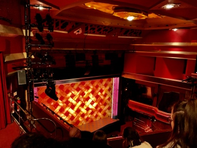 Where to sit - View from seat - Waitress - Adelphi Theatre London - Theatress Blog 2