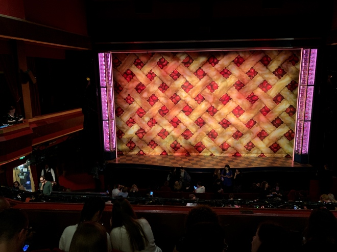 Where to sit - View from seat - Waitress - Adelphi Theatre London - Theatress Blog 20