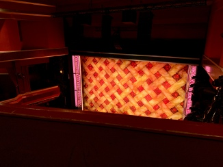 Where to sit - View from seat - Waitress - Adelphi Theatre London - Theatress Blog 4