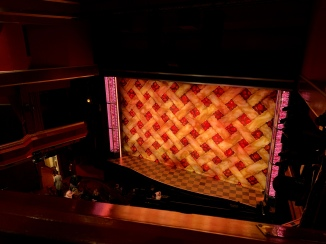 Where to sit - View from seat - Waitress - Adelphi Theatre London - Theatress Blog 5