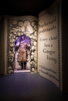 Gingerline Immersive Dining - The Grand Expedition Review - Theatress 1