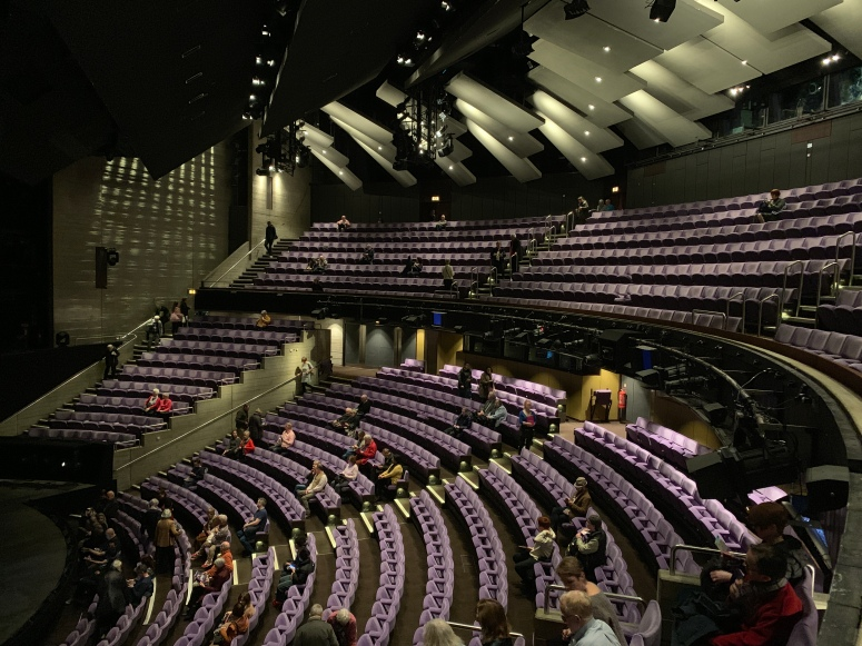 Where to sit - Olivier Theatre, National Theatre, London - Theatress 7